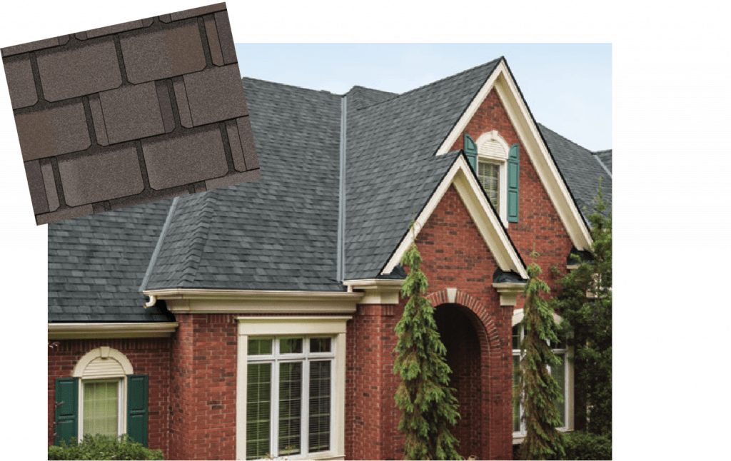 Example of Grennan Constructions Silver level roof shingles. Residentail roofing company Michigan.