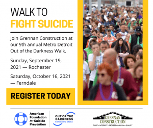 Register Today to Fight Suicide