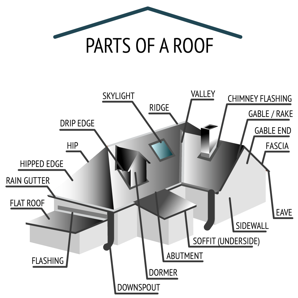 The anatomy of roofing
