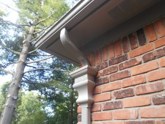 New gutter replacement on home.