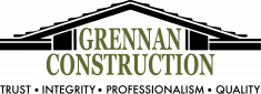 Grennan Construction Logo Roofing Contractor Oakland County