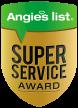 Angies List Super Service Award Vector logo